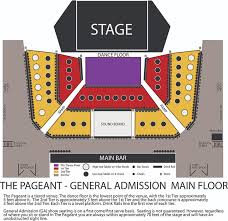 Six Flags St Louis Concert Seating Chart Seating Maps The Pageant