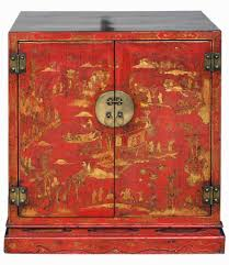 red lacquered furniture. Antique Chinese Bookcabinet Red Lacquered Furniture U