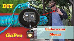 Underwater Camera Light Mount Diy Gopro Underwater Camera Mount With Light