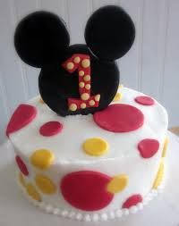 Mickey Mouse Clubhouse Cake Birthday Designs Minnie Buttercream