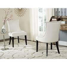 awesome dining room chairs set 2 contemporary best inspiration cream leather dining chairs milano cream bonded leather dining chair including free