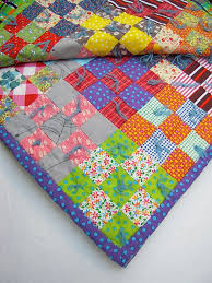 65 best Tied Quilts images on Pinterest | Embroidery, Craft and ... & The alternative - tied quilt. Adamdwight.com