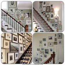 Stairs Wall Decoration Ideas Decorating Staircase Wall