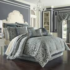 j queen new york sicily teal bedding