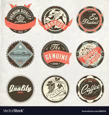 Vintage Design Vintage Design Retro Labels