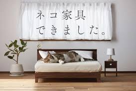 Japanese Artisans Create A Range High Quality Cat Furniture