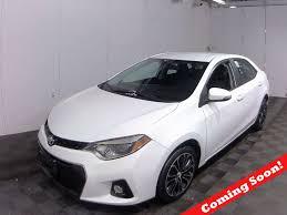 2015 Used Toyota Corolla 4dr Sedan CVT S at North Coast Auto Mall ...