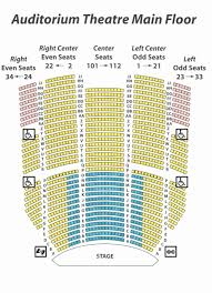 sheas performing arts seating chart shea s performing arts seating chart with seat numbers