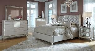Loft Bedroom Furniture Hollywood Loft Bedroom Set Frost Aico Furniture Furniture Cart