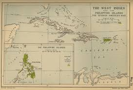 map of the spanish american war map of the spanish american war 1898
