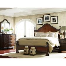 Stanley Bedroom Furniture Stanley Furniture 128 Continental Bedroom California King Mansion Bed