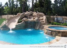 pool designs with slides. Exellent Designs Swimming Pool Designs With Slides Photo  5 Pool Rock Stairs  Transfering Into A To R