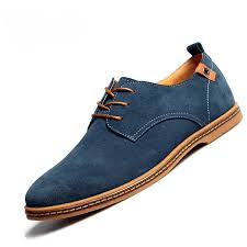casual leather shoes oxford style