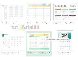 Kalender 2015 Excel Cara Membuat Kalender Dengan Excel Dan Photoshop Tutorial89