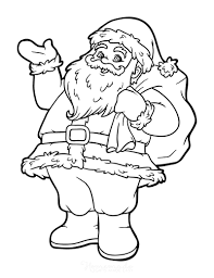 Free downloadable printable pictures for christmas. 100 Best Christmas Coloring Pages Free Printable Pdfs
