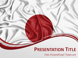 microsoft powerpoint slideshow templates japan flag powerpoint template presentationgo com