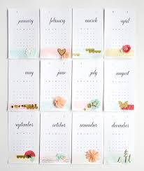 calendar month cards amy robison