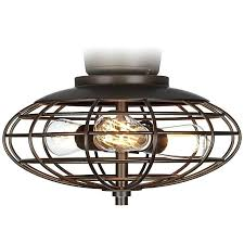 oil rubbed bronze ceiling fan light kit open cage 3 watt lamps plus clarkston 44 in oiled with