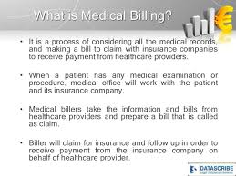 As a medical billing and coding specialist, you will handle provider, patient, and insurance information that must be kept secure at all times. Medical Billing And Coding