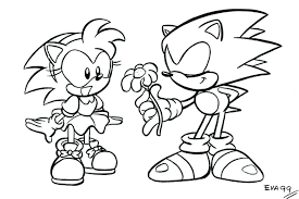 Mario And Sonic Coloring Pages Online Sonic Coloring Pages Coloring