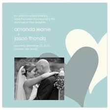 Wedding Announcement Photo Cards Love Notes Wedding Announcement 5 25x5 25 Flat Cards With Envelopes
