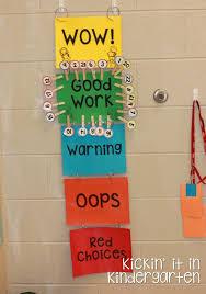 Kindergarten Behavior Color Chart The Behavior Chart Stays