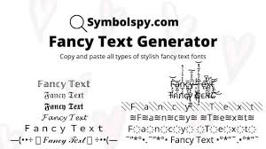fancy text generator to 𝓬𝓸𝓹𝔂 𝕒𝕟𝕕