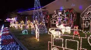 Pleasanton Holiday Lights Santa Bob Lights Up Pleasanton Home One Last Time