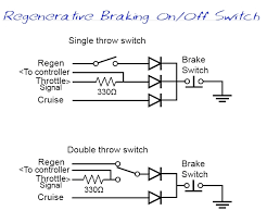 newbie question about regen braking i have some scribbled down diagrams somewhere of a similar circuit that i devised for dual motors that would allow independent regen linked to each of the
