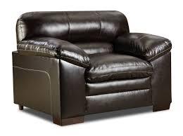 Simmons Grandwood Chair And A Half Club Chair