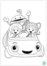 Team Umizoomi Coloring Pages 12 Colors Of Pictures