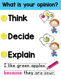 Opinion Writing In Kindergarten Mrs Wills Kindergarten