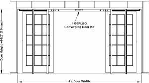 Scenic Standard Pocket Door Widths Sliding Doors Width Glass