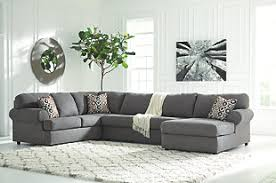 gray sectional sofas. Interesting Gray Large Jayceon 3Piece Sectional Steel Rollover And Gray Sectional Sofas L