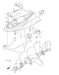 suzuki outboard parts df 90 parts listings browns point marine 2016 Df90a Suzuki Outboard Wiring Diagram suzuki df 90 fig 41 gear case