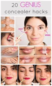 tips and tricks from makeup 20 genius concealer hacks every woman needs to know