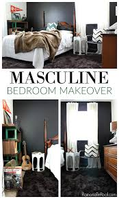 masculine bedroom makeover this room functions as a guest room teenage boy s room