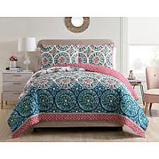 Bed Size Twin/Twin XL Quilts & Coverlets - Sears & VCNY Home Zinnia 3-piece Reversible Quilt Set Adamdwight.com