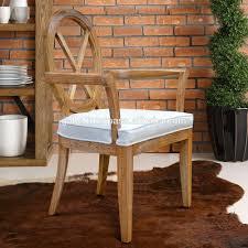 Esszimmer Stuhl Kreuz Zurück Natürliche Fertigen Weiß Gewaschen Teak Holz Möbel Aus Indonesien Möbel Crafter Buy Teak Vintage Stuhl Stilesszimmer