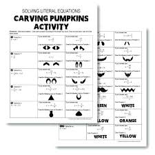 ill be making more activities and will update the post literal equations coloring activity answers football