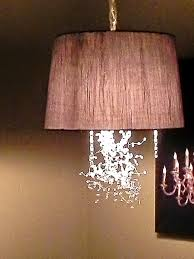 photo 1 of 9 diy drum lamp shade chandelier 1 diy drum shade pendant light christina bell