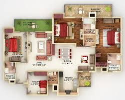 Small Four Bedroom House Plans Small 4 Bedroom House Plans Endearing Four Bedroom House Plans
