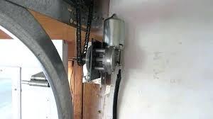 liftmaster 8500 wall mount garage door opener image of side garage