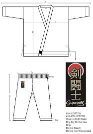 Proforce 7 5 Oz Karate Uniform Elastic Drawstring 55 45 Blend Blue 000 4 40 Lbs