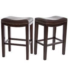 amazoncom jaeden beige backless bar stools (set of ) kitchen