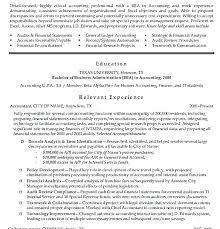 Cpa Resume Template Enchanting Sample Senior Accountant Resume Accountant Resume Templates Best Of