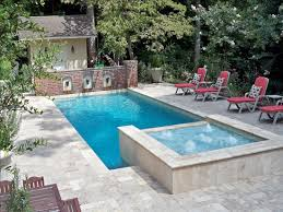 cool swimming pools. Fine Swimming Triple Water Fountain Of Pool With Awesome Style And Red Chairs Cool Swimming Pools N