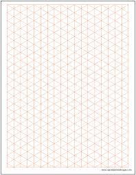 Isometric Paper Template Www Picswe Com