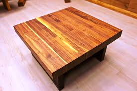 american made wood coffee tables