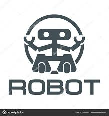 Robot Logo Design Robot Logo Design Robotics Vector Graphics Design Stock